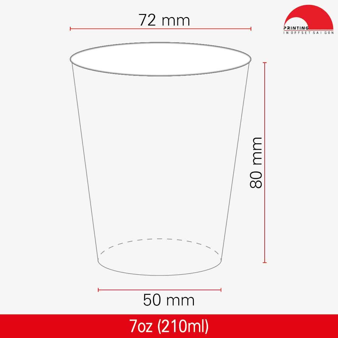 Ly Giấy 7oz - 210 ml