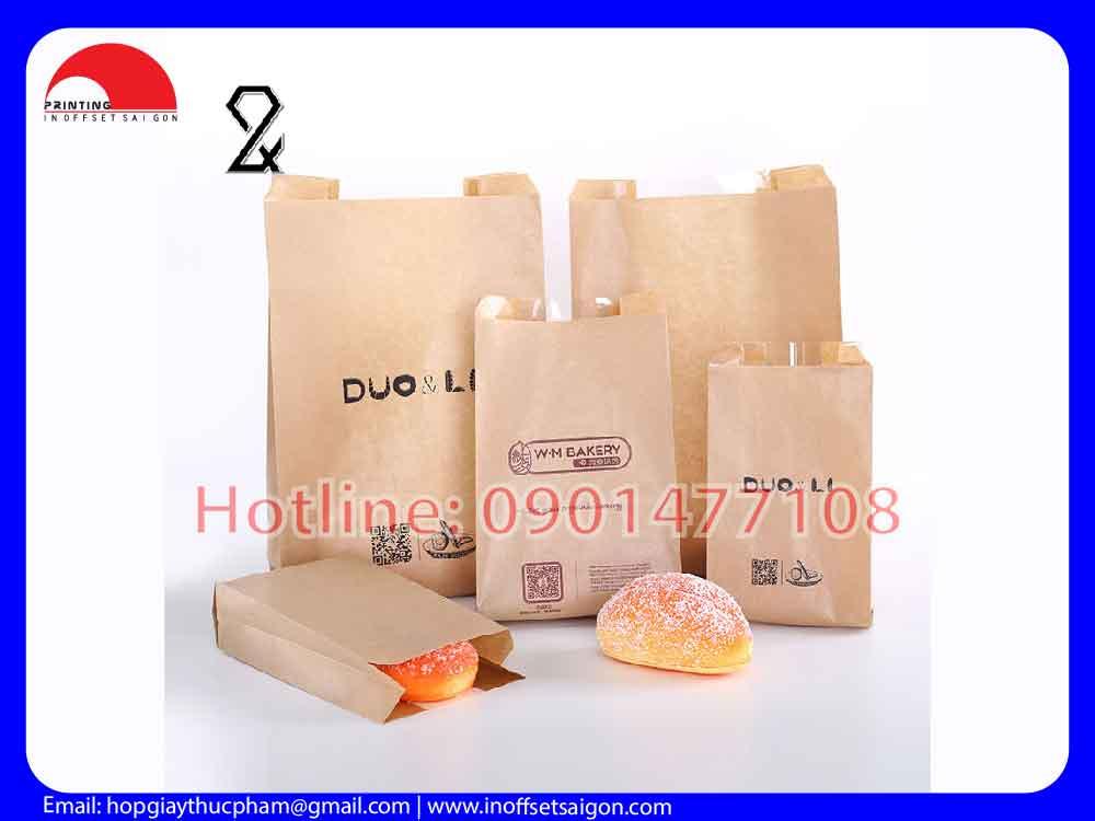 Túi Giấy Đựng Bánh - Túi Giấy Thực Phẩm