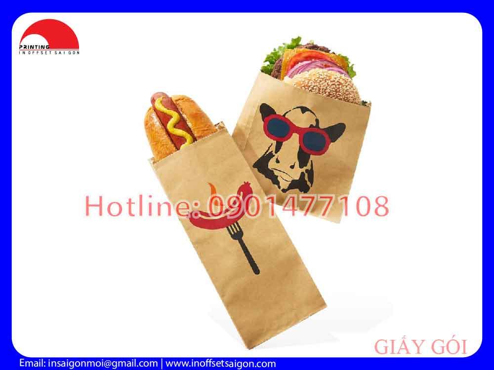 Túi Giấy Bánh Mì - Túi Giấy Thực Phẩm