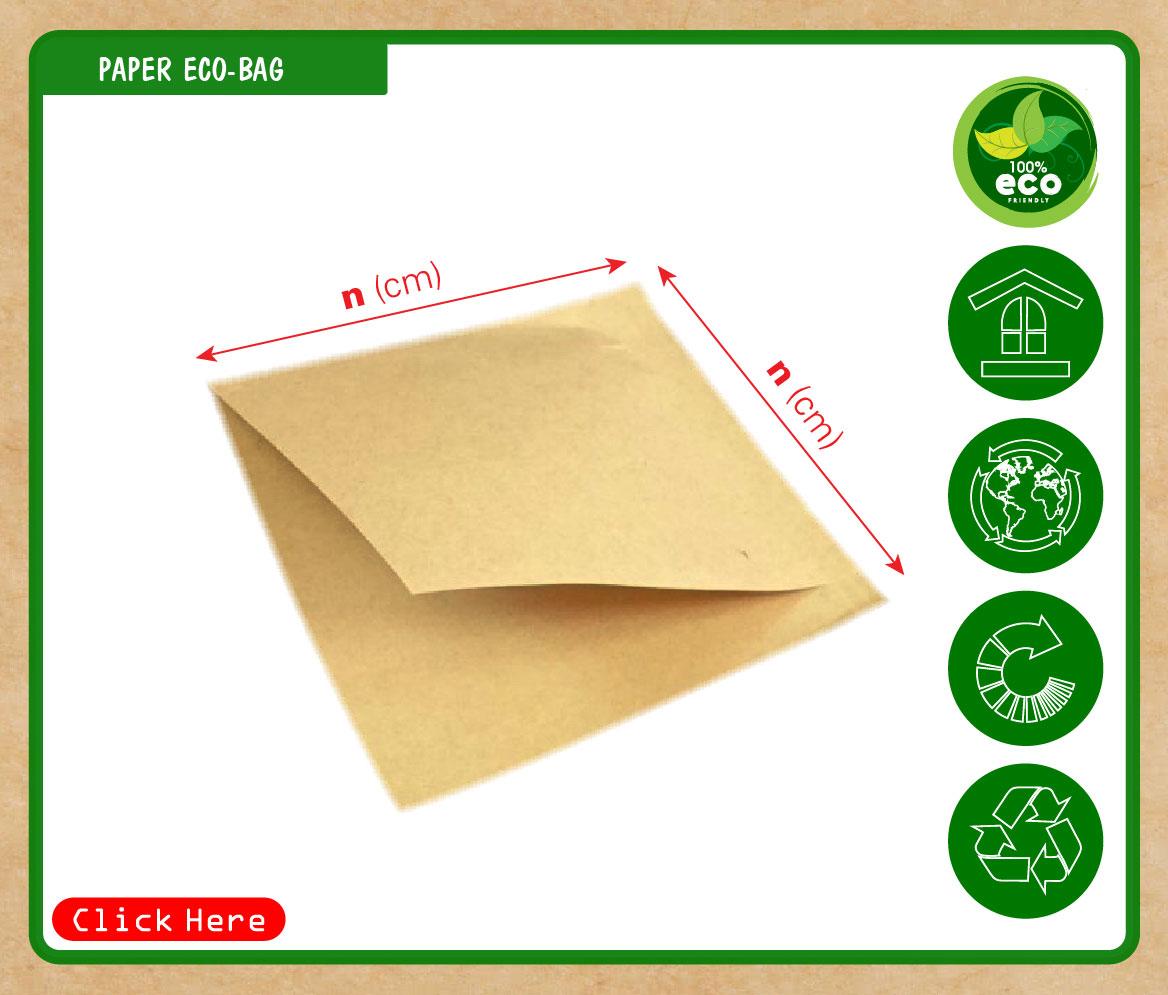 Túi giấy đựng hamburger đựng bánh sandwich bánh kebad bánh tam giác