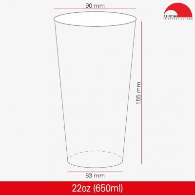 Ly Giấy 22oz - 650 ml