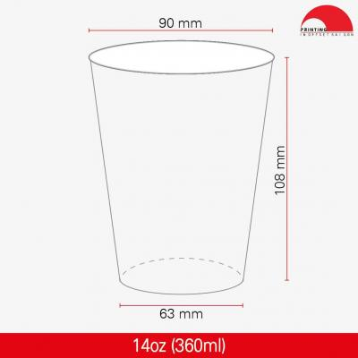 Ly Giấy 14oz - 360 ml