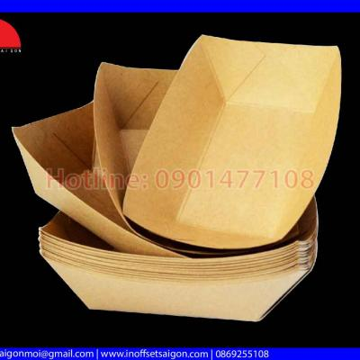 Khay Giấy Takeaway - Tray paper food