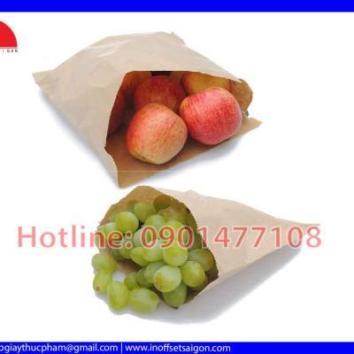 Túi Giấy Đựng Bánh - Túi Giấy In Sẵn